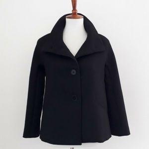 Talbots Wool Blend Coat Jacket Sz 2